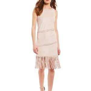 Buffalo By David Bitton Lace-Up Fringe Dress, Dune